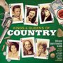 Various Artists - Kings & Queens Of Country [3CD Box Set] (Music CD)