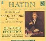 quatuor festetics haydn: quatuors op. 17